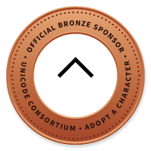 Unicode Official Bronze Sponsor